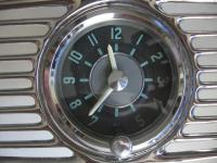 Oval grill clock made by Kohler