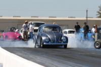 1955 oval burnout