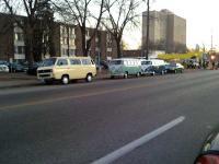 VW Bus + Vanagon parade