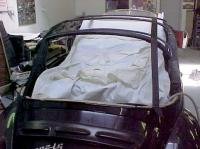 Replacing the Convertible Top on a Volkswagen Cabriolet