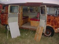 Pic from  Samba ad in July of 2005 of camper for sale for $ 4,800