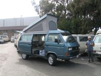 '87 Westfailia after GoWesty makeover, ready to drive home
