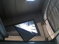 Interior shot of GoWesty 3-window tent