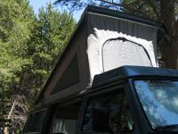 Exterior shot of GoWesty 3-window tent