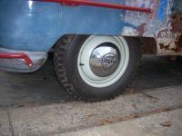 knobby rear tires