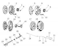 Clutch Exploded Diagram