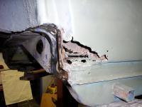 Rear Quarter Panel Rust Through