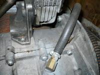 Engine case breather