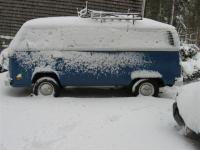 The Bus in Snow