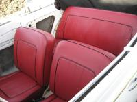 1956 convertible interior update