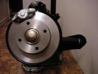 disc brakes on BJ beam