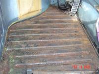 Stripped floor pans
