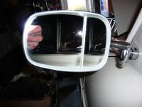 Weird passing mirror