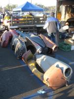 Ghia fenders. Pomona 1-2008