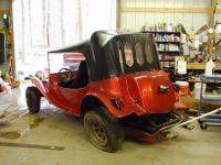 Old Fiberglass Buggy