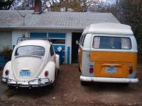 1965 and 1971 westy
