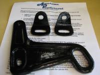 towing eye and seatbelt anchors
