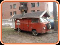 A VW Bus Motor Home