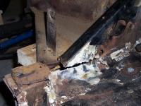 Framehead rust repair