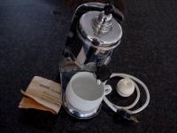 Rare NOS Hertella Putzi coffee maker
