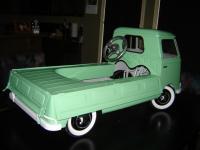 Custom Single cab pedal car