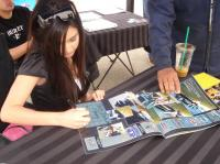 Joanna Signing Calendars at the Bug-In 33