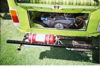 Extingusher and oilcooler