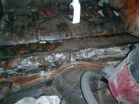 ghia pictures during restoration