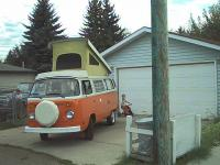 The Beautiful Orange Bus