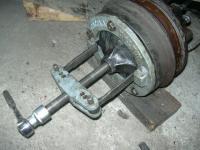 dismantling rear drum