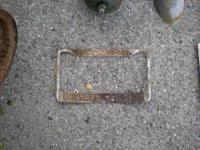 Crusty plate frame