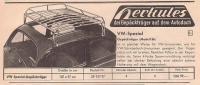 rare eckel roof rack ad