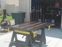 single wheel trailcar restoration