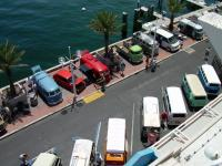 Busses On The Pier