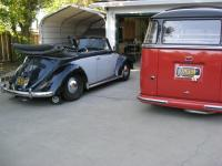 July 53 Vert and Barndoor Deluxe, Built 8 days apart.