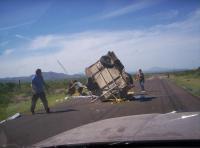 trailer wreck