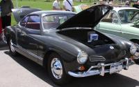 '65 Coupe - Smoke Grey w/ Aero Red interior