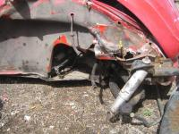1974 Std. VW Beetle Crash
