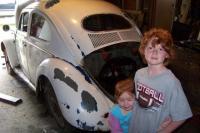 the kids love the bug