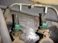 replacing injector fuel lines