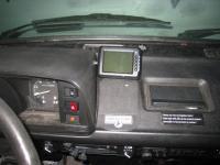 wireless backup camera installed