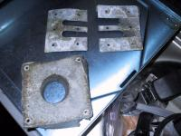 westfalia underside plates (for water tanks and propane lines)