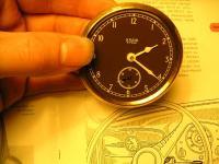 rare split clock