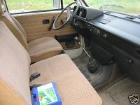 vanagon front seats 3 across.