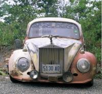 beetle with RR grille, photoslammed