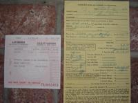 Old paperwork