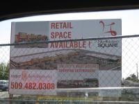 new shopping center & buses