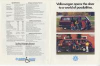 Vanagon Handicap / Wheelchair Accessible Brochure