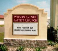 Wilson Avenue Baptist Church Volkswagen Bus