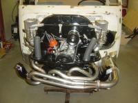 new engine finished with Python exhaust